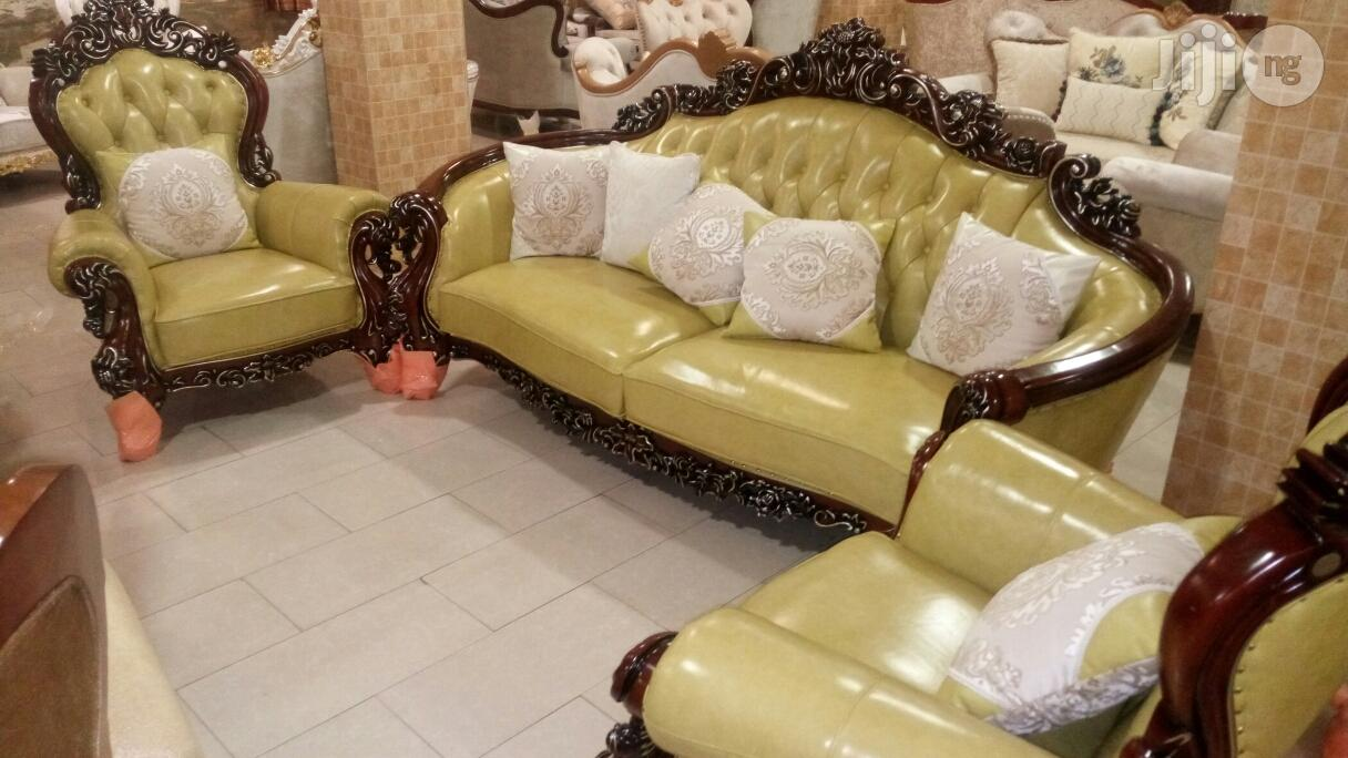 Archive: Set Of High Quality Executive Royal Leather Sofa Chair By 7 Seaters
