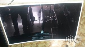 """Latest UK Samsung 55"""" Tizen Smart Curved TV   TV & DVD Equipment for sale in Lagos State, Ojo"""