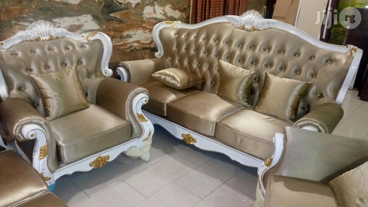 Set of Quality Executive Royal Fabric Sofa Chair by 7 Seaters