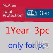 Mcafee Total Protection 2020 3 PC 12 Months License | Software for sale in Lagos State, Ikeja