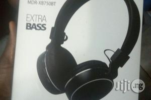 Bose Wireless Metal Sport Mdr Xb750bt Headset   Headphones for sale in Lagos State, Ikeja