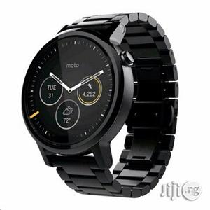Moto 360 - 2nd Gen. - Men's 46mm - Black Case Band   Smart Watches & Trackers for sale in Lagos State