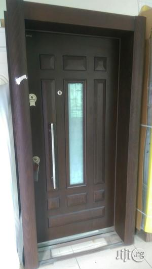Isreali Security Door With Glass   Doors for sale in Lagos State, Surulere