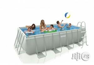 Brand New 13ft by 6ft Mobile Swimming Pool With Ladder | Sports Equipment for sale in Rivers State, Port-Harcourt