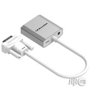Vention VGA To HDMI Converter Cable With Audio 1080P For PC Laptop | Accessories & Supplies for Electronics for sale in Lagos State