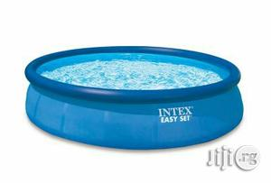 Original & Durable Outdoor 10ft Intex Easy Set Inflatable Pool 10ft.   Sports Equipment for sale in Rivers State, Port-Harcourt
