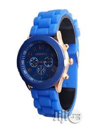 Female Wrist Watch-blue | Watches for sale in Lagos State