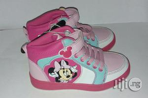 Pink Mini Mouse Canvas for Girls | Children's Shoes for sale in Lagos State, Lagos Island (Eko)