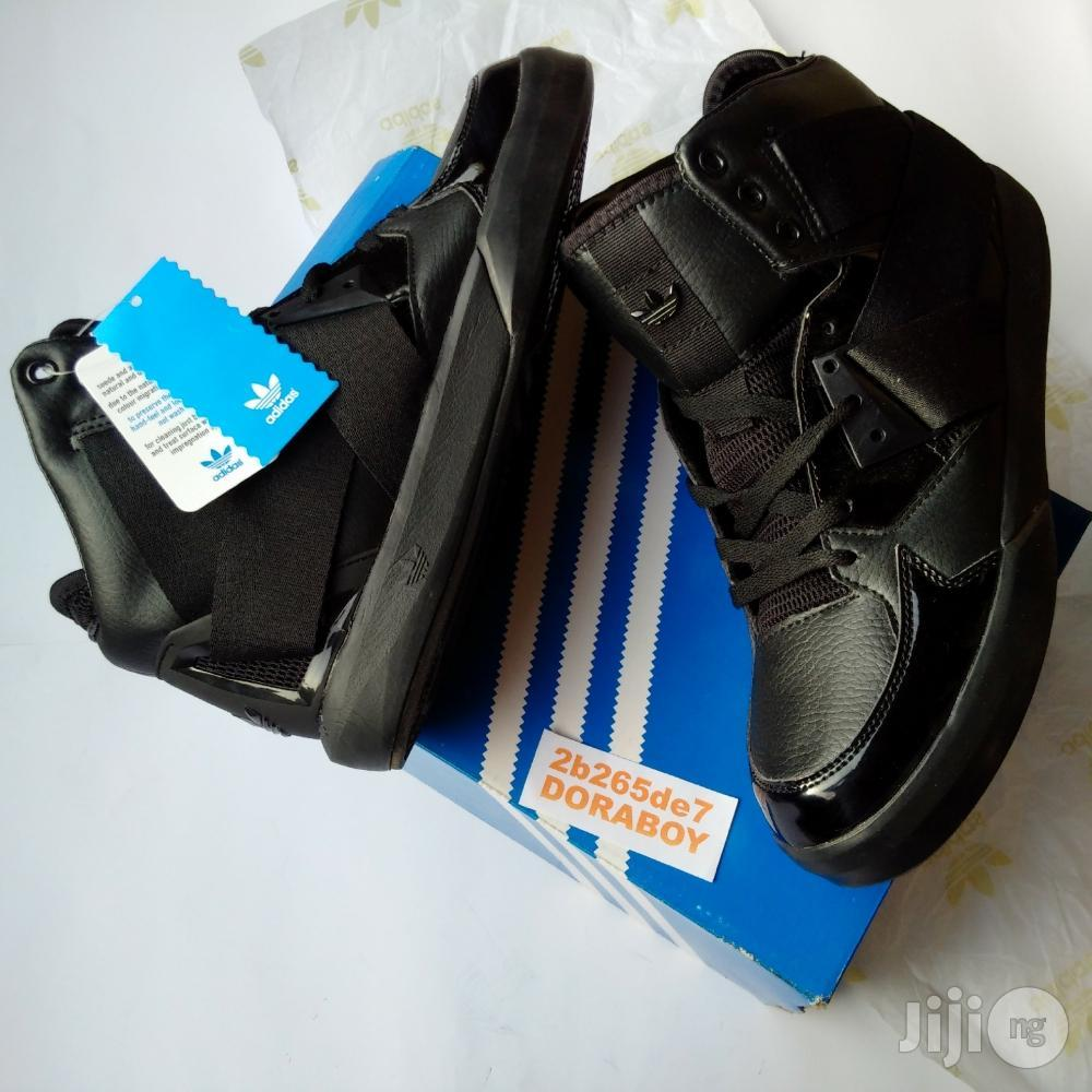 New Adidas C-10 Black Sneakers | Shoes for sale in Ojo, Lagos State, Nigeria