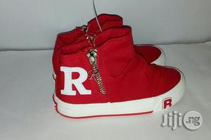 Red High Top Sneakers for Girls | Children's Shoes for sale in Lagos State, Lagos Island (Eko)