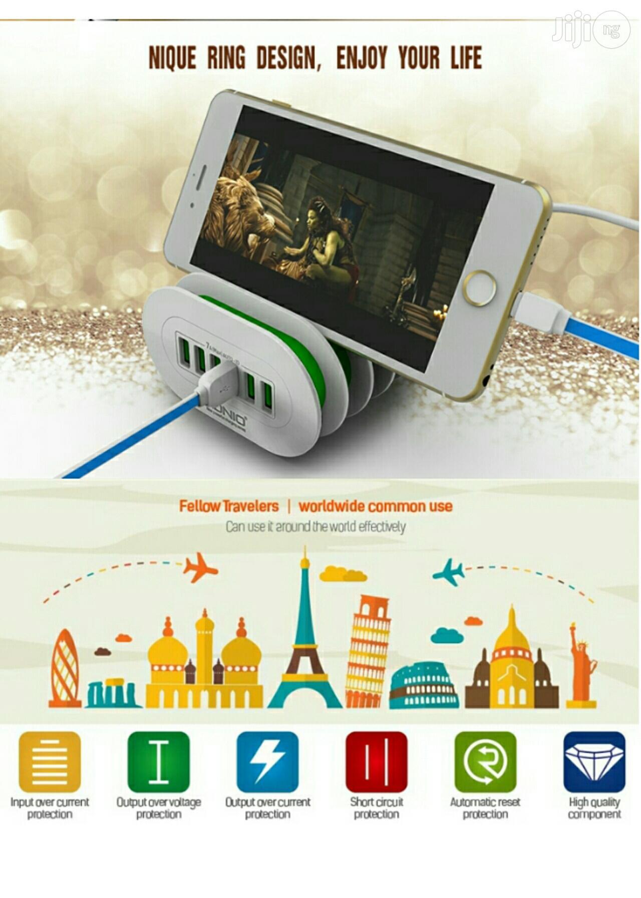 LDNIO 6 USB Multi Ports 7A Charging Station Smart Adaptive