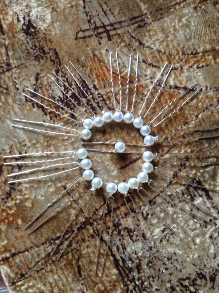 Archive: Pearl Bridal Hair Pins