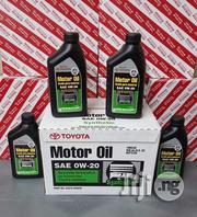 Genuine Toyota 0W-20 Fully Synthetic Motor Oil | Vehicle Parts & Accessories for sale in Rivers State, Port-Harcourt