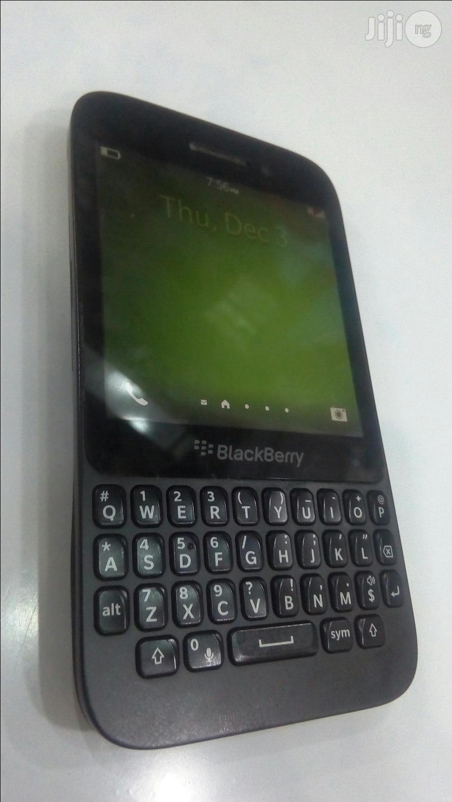 Blackberry Q5 Black 16GB | Mobile Phones for sale in Port-Harcourt, Rivers State, Nigeria
