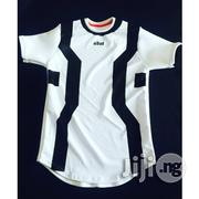 ADOT Print T-Shirt - Black White | Clothing for sale in Lagos State, Shomolu