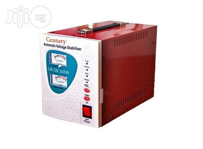 Century Automatic Voltage Stabilizer Cvr Tub 2000va