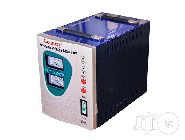 Century 5000VA Automatic Voltage Stabilizer Cvr Tub 5000va