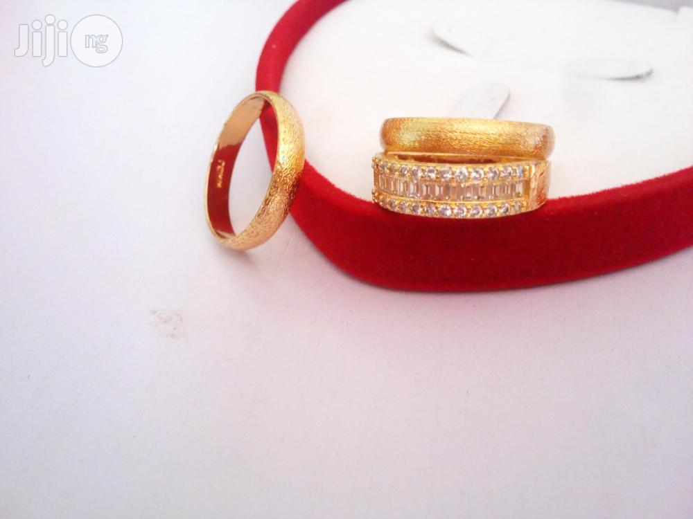 Leyla Williams Gold Set Of Stunning Wedding Ring
