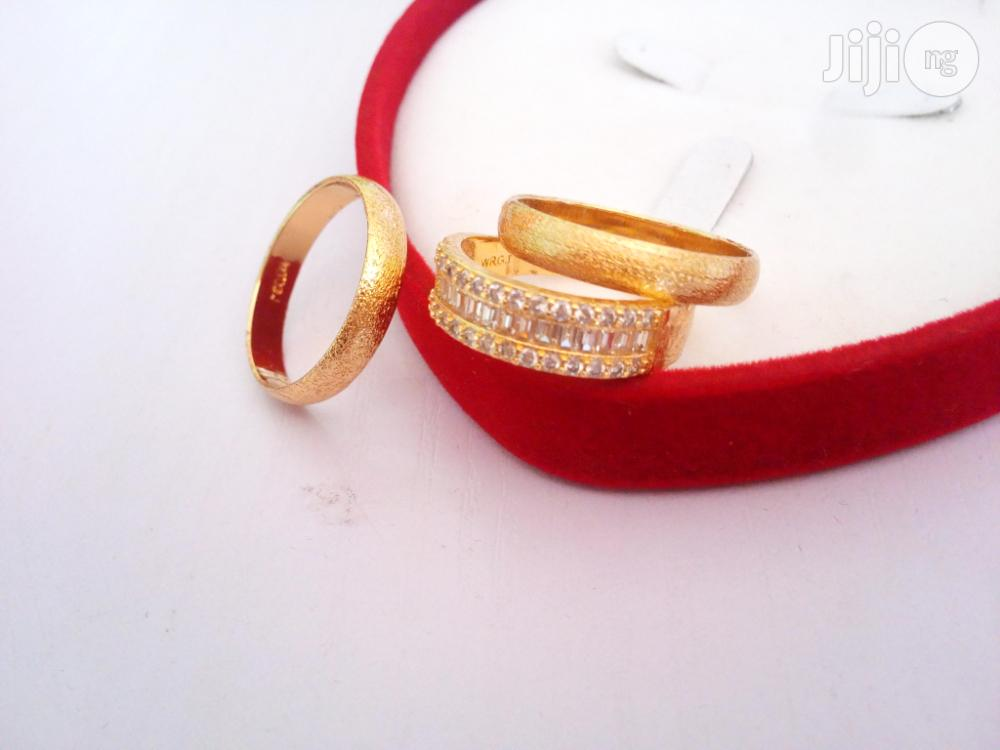 Leyla Williams Gold Set Of Stunning Wedding Ring   Wedding Wear & Accessories for sale in Ojodu, Lagos State, Nigeria