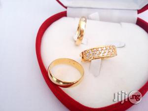 Brand New Romania Gold Engagement and Wedding Ring R1 | Wedding Wear & Accessories for sale in Lagos State, Ojodu