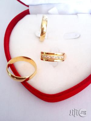 Exotic Brand New Romania Gold Engagement/Wedding Ring | Wedding Wear & Accessories for sale in Lagos State, Ojodu