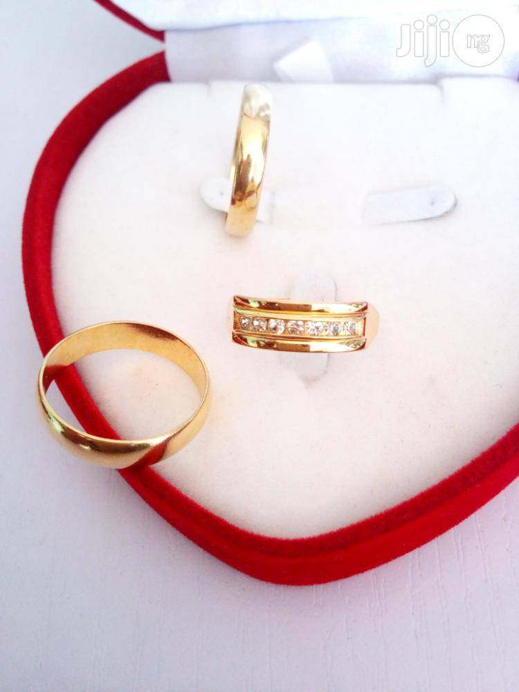 Exotic Brand New Romania Gold Engagement/Wedding Ring