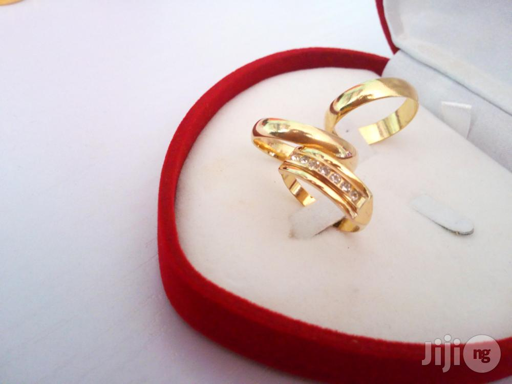 Exotic Brand New Romania Gold Engagement/Wedding Ring | Wedding Wear & Accessories for sale in Ojodu, Lagos State, Nigeria