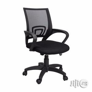 Executive Mesh Office Chair - Black   Furniture for sale in Lagos State, Alimosho