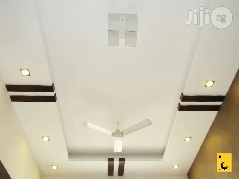 Ceiling Boards With Pop Design