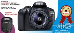 Canon EOS 1300D With 18-55mm Zoom Lens   Photo & Video Cameras for sale in Lagos State, Ikeja