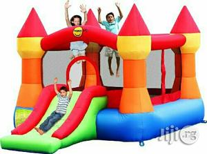 Brand New 12ft by 9ft Bouncy Castle With Slide | Toys for sale in Rivers State, Port-Harcourt