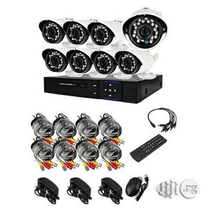 Complete 8 Channels CCTV Kit With Internet Mobile Phone View | Security & Surveillance for sale in Lagos State, Ikeja