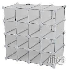 16holes Interlocking Shoe And Clouth Organizer   Home Accessories for sale in Lagos State, Lagos Island (Eko)