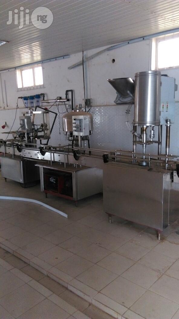 Bottle Water Machine