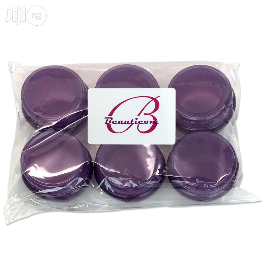 10G/10ML Frosted Container Jars With Inner Liner Lotions, Makeup,Oils | Bath & Body for sale in Lagos State, Nigeria