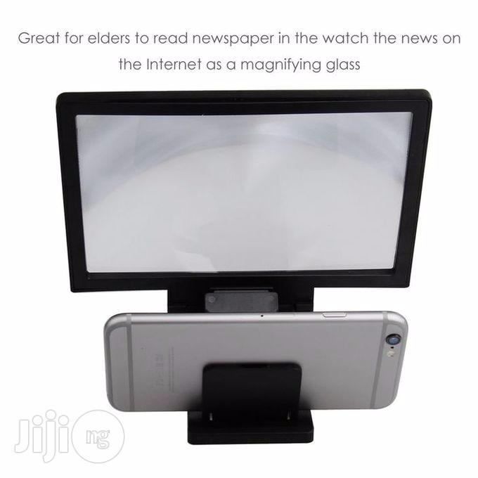 3D Smartphone Screen Magnifier - Black | Accessories for Mobile Phones & Tablets for sale in Oshodi, Lagos State, Nigeria