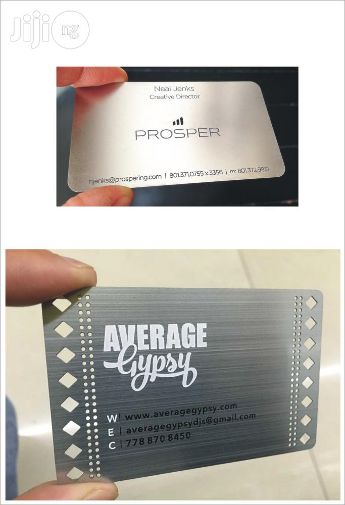 Get A Professional Image For Your Business Using A Metal Business Card