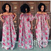 Ankara Dress Off Shoulder Ankara Gown   Clothing for sale in Plateau State, Jos
