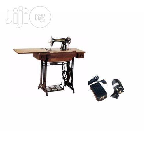 Butterfly Sewing Machine With An Electric Motor