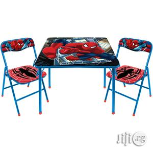 Spiderman Character Kids Table &Chair Set   Children's Furniture for sale in Lagos State, Ikeja