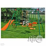 Brand Ne Multi Swing Set With Slide | Toys for sale in Rivers State, Port-Harcourt