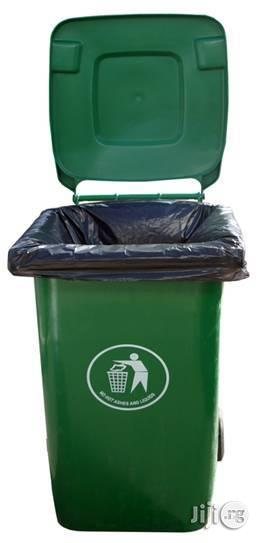 240 Litre LAWMA Wheelie Waste Bin for Your Home and Office   Home Accessories for sale in Lagos State, Ikeja