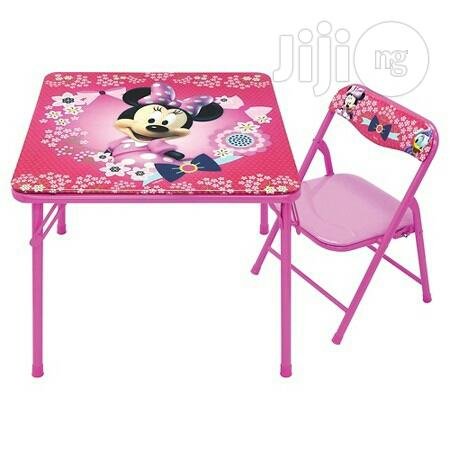 Character Kids Table & Chair Set