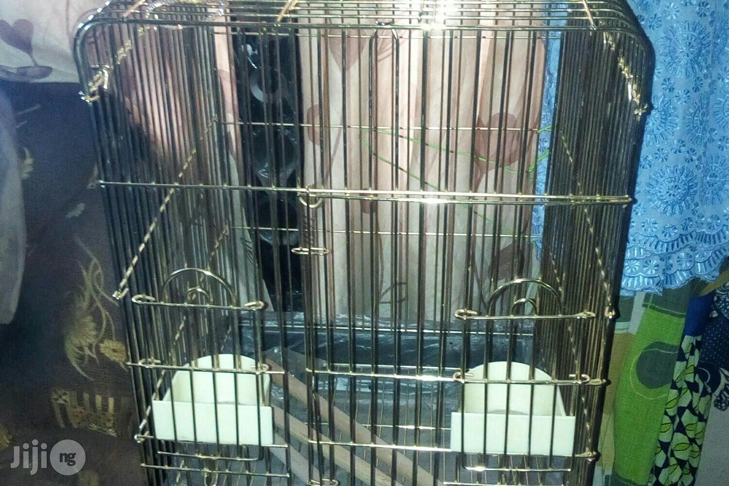 Imported Parrot Cage