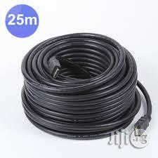 Hdmi Cable 25m Black 4k Hd | Accessories & Supplies for Electronics for sale in Lagos State, Ikeja
