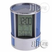 Multifunctional LCD Calendar Clock With Pen Holder, | Stationery for sale in Lagos State, Surulere