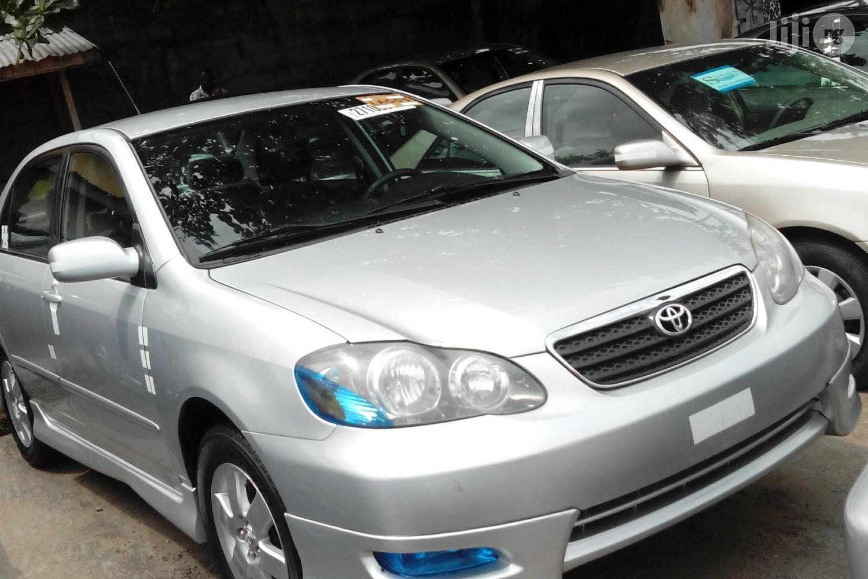 Toyota Corolla 2007 S Silver   Cars for sale in Apapa, Lagos State, Nigeria