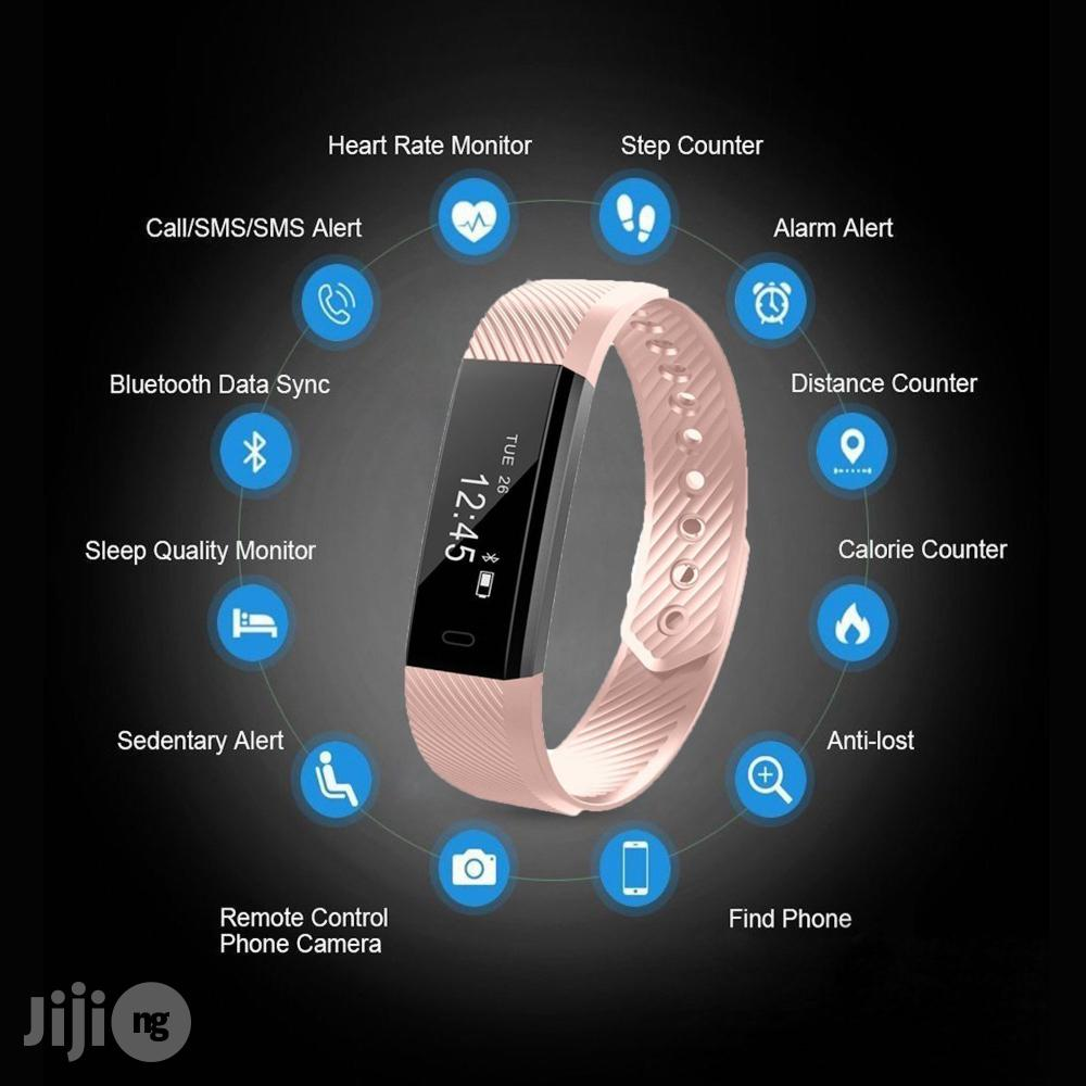 CAMTOA Fitness Tracker | Smart Watches & Trackers for sale in Lekki, Lagos State, Nigeria
