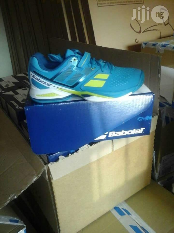 Babolat Lawntennis Nd Badminton Canvas | Shoes for sale in Ikeja, Lagos State, Nigeria