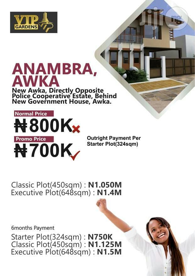 Land for Sale at VIP GARDENS Awka, Anambra State | Land & Plots For Sale for sale in Awka, Anambra State, Nigeria